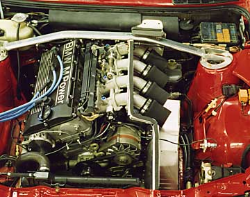 Bmw E30 M3 >> L: BMW E30 M3 This is a 2.7 liter stroker engine with Electromotive Tec2, donein 1995